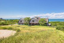 Nantucket Bluff house