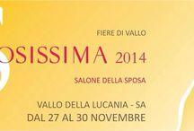 Sposissima2014 / Défilé di alta moda sposi e cerimonie Domenica 30 Novembre  Fiere di Vallo della Lucania