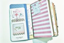 Creative journaling travelers notebook - my pages