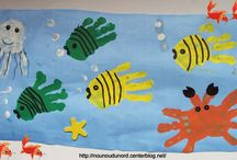 frise marine avec mains