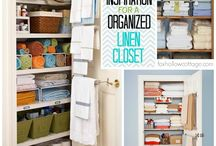 Storage / cupboards, storage hacks
