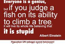 Hentikan Ujian Nasional / by Bukik Setiawan