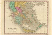 Greece Antique Maps / Antique maps of Greece present an interesting view of the many changes in Greece over the Centuries. These original old maps of Greece show the ebb and flow of political and geographical change. Vintage maps of Greece often show Country and Kingdom names. The Greek boundaries changed over the years as one power rose and another declined. These historical Greece maps, to include antique maps of Athens, Sparta and Thessalonica are truly pieces of Greek history on paper.