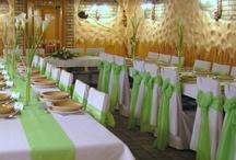 ALMA / Éttermi dekorálás esküvőre