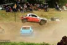 Stockcar / Action beim Stockcar-Racing