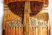 Fibre Art / Latch Hook, macrame, loomed and woven. A blend of vintage and modern.