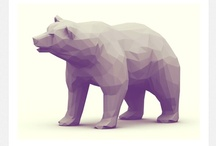 3D Model Inspiration / Models, low poly, high poly.