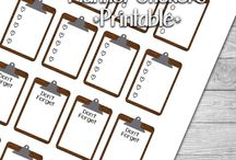 Planners- Free Printables
