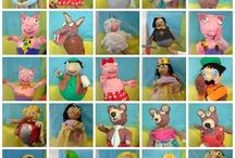 GRANDES ARTISTAS, desde el cole / Estos trabajos están hechos en el colegio, por niños de Educación Infantil.