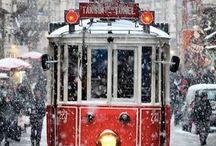 Trams / Gamla fina spårvagnar