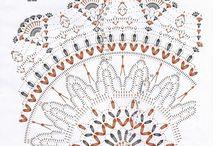 Háčkované dečky II - Crochet doiliesII