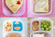 Desayunos, almuerzos y meriendas para niños