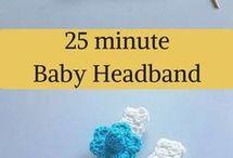 Quick baby headband