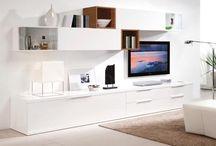 Obývák - TV stěna