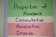 Properties of Numbers / by Ashlee Reed