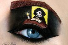 Crazy makeup / Omg
