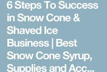 Shaved Ice & Italian Soda business