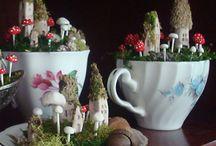 Fairies & Gnomes / Magical fairy & gnome dwellings.