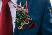 WEDDING PALLETTE | Navy & Red