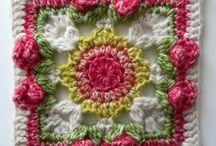 Crazy for Crochet Granny Squares / Oodles of ideas for creating a granny square rug or many other rugs and throws!