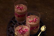 Tiramisu Grießbrei Pudding Mouse Milchreis  und Triffle