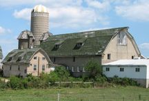 barns and farmhouses / by Amy Henbest