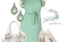 I love dresses - green