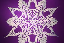 Papercut Snowflakes -  An Annual December Project