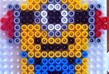 Perles hama / pixels arts
