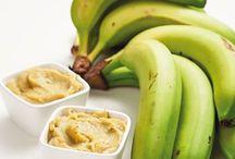 pasta de banana verde