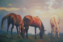 malarstwo - konie / malarstwo olejne