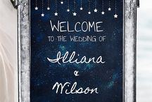 Star theme Wedding