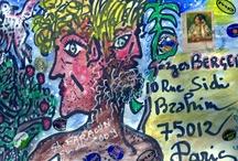 Création / Janus : Merveilleuse enveloppe réalisée par notre ami Ghaouti Faraoun.