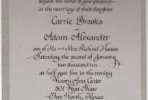 Calligraphy by Dory West / Calligraphy by Dory West of Adorna Design