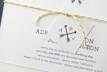 Save the Date / WEDDING Logo