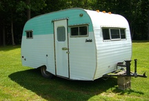 vintage campers / by Norma Iverson