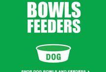 Dog Bowls & Feeders