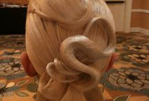 Ballroom Competition Hairstyles / Need ideas for your next competition?  Check out these styles and tips!