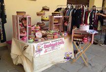 My candy stand.... / Il mio banchetto goloso nei vari mercatini.....