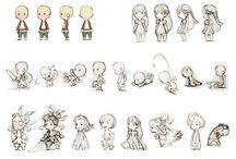 Game Art - Character Developement