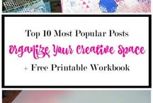 Organizing Your Blogging Time & Space / Business + Blogging