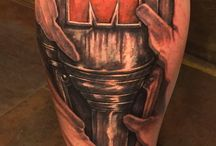Ironman triathlon tattoo