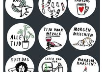 Hanna Melin Draws / Maker of illustrations and products, mostly of cats and dogs.