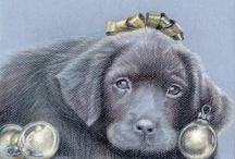 ART - Black DOG Portraits