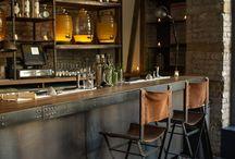 Toms Place bar stools / Bar stools