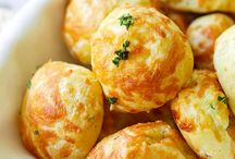 Savoury biscuit recipes / Gougeres