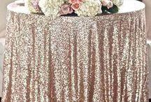 wedding - table cloths