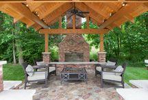 Fireplace Fantasies: Outdoor