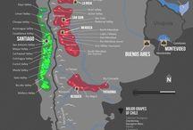 South America - wine regions