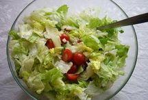 Recepty - saláty, studená kuchyně